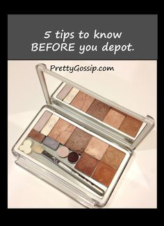 I am totally hooked on my Unii palette! All of my shadows and blushes in one case is amazing. 5 Must Know Tips for Depotting Makeup