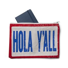 Hola Y'all pouch