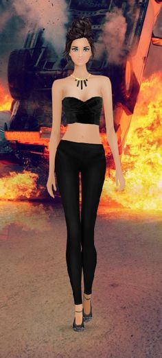 Look Styled For Covet Fashion: Stunt woman