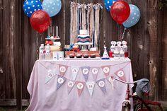 Birthday Party / Train Theme