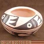 "Miniature Native American Pottery - Hopi Pot Hand Made by artist Clinton "" Nampeyo"" Polacca"
