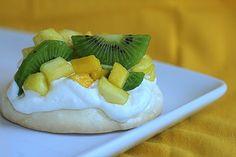 tropical fruit pavlovas 1 by annieseats, via Flickr