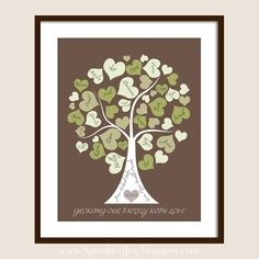 DIY Family Tree with Buttons   Family Tree Personalized with your Loved Ones.