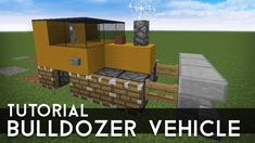 Minecraft Tutorials - Learn hot to put together a Minecraft Bulldozer with these Minecraft Vehicle Tutorials ! View other great Minecraft tutorials and the best Minecraft Seeds !