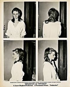 Audrey Hepburn hair & makeup test for Breakfast at Tiffany's
