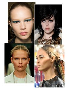 Paris Fashion Week: Top 10 beauty trends, Fall/Winter 2014-2015, FW2014, Saint Laurent, Givenchy, Pat McGrath, Vivienne Westwood, Christian ...