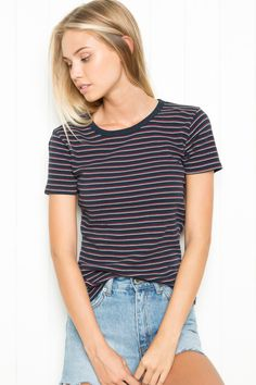 Brandy ♥ Melville    Arlene Top - Tees - Tops - Clothing