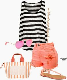 Outfits on Fashion: The Summer is Coming: Cute Outfit Ideas for Summer Trips #1
