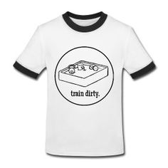 """Words to Sweat By """"Train Dirty"""" Kids' T-Shirt   Fit Bottomed Girls"""
