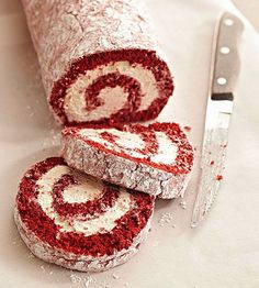 Who doesn't love red velvet? See more healthy dessert recipes: http://www.bhg.com/recipes/healthy/dessert/healthy-dessert/?socsrc=bhgpin080713redvelvetroll=19