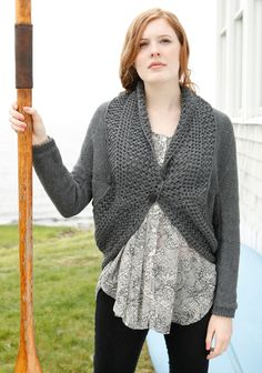Amy Shrug Free Knitting Pattern | Knitting Patterns for Shrugs and Boleros, many free patterns at http://intheloopknitting.com/free-shrug-bolero-knitting-patterns/
