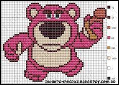 Toy Story - Lots-O'-Huggin Bear / o Cruz - bem vindos deixem seus comentários - Dinha Pont