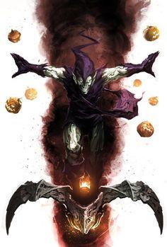 Green Goblin by naratani.deviantart.com:
