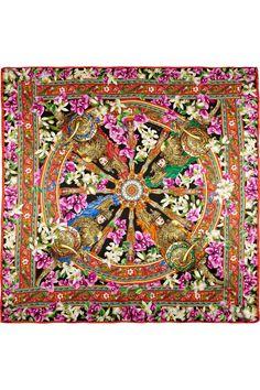 Dolce & Gabbana | Floral-print silk scarf