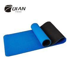 QIAN YOGA 6mm TPE Double Layer Yoga Mat Non Slip Mat For Beginner Environmental… #yoga #fitness #workout #health #yogapants #meditation