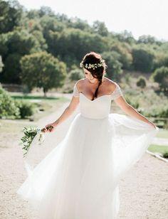 dreamy bridal photo from Jason + Anna Photography