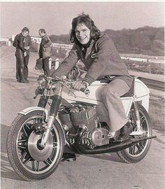 Barry SHEENE Seeley Suzuki T 500 - 1973.