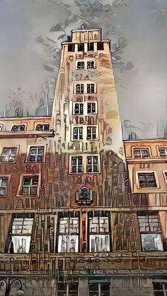Kris Mo • Deep Dream Generator Big Ben, Notre Dame, Deep, Building, Travel, Viajes, Buildings, Destinations, Traveling