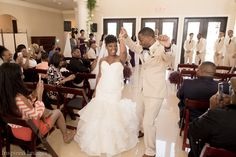 Indoor wedding ceremony, Thistlewood Manor Wedding 2017,  Photographer: Bromwyn with Inspired Images