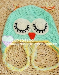 Free Crochet Patterns for Kids' Hats Aaaah Caroline you will be too busy so I will have to learn to make these for them...