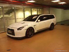 Nissan Stagea GTR Front End Swap