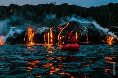 kayak in Kilauea, Hawaii
