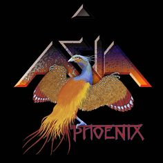 ASIA - Phoenix by the amazing Roger Dean