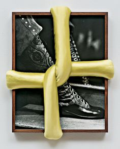 Elad Lassry's ''Untitled (Boot A),'' 2013.