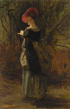 John Pettie, The Reader (1886)