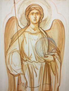 Archangels, Orthodox Icons, Illustration, Drawings, Painting Inspiration, Archangel Michael, Art, Art Icon, Angel Art