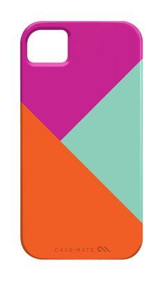 iPhone 4 or 5 case - Color Block. $39.00, via Etsy.