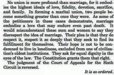 Wording of SCOTUS decision. LOVE WINS!!!