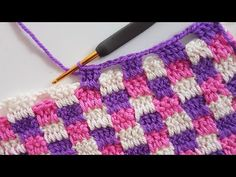 Today we are going to look at a plaid stitch. What is unique about this stitch – one may ask. Well, nothing is unique. However, it is a fact that even most basic stitches can look quite remarkable. Plaid stitch is one of those. It looks basic, yet it is rather beautiful in its' simplicity.… Read More Crochet Plaid Stitch