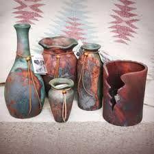 Image result for raku pottery