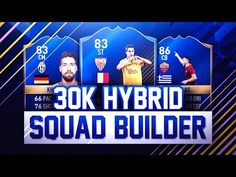 http://www.fifa-planet.com/fifa-ultimate-team/beast-overpowered-30k-hybrid-squad-builder-fifa-17-ultimate-team/ - BEAST OVERPOWERED 30K HYBRID SQUAD BUILDER! (FIFA 17 Ultimate Team)  Thanks to one of my awesome subscribers, today's video is possible. I'm