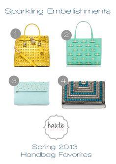 Spring 2013 Handbag Faves - Embellished Look