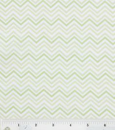 Nursery Baby Basic- Chevron Green : nursery fabric : fabric :  Shop | Joann.com