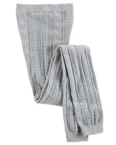 Toddler Girl Footless Cable-Knit Tights | OshKosh.com