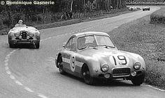 Tony Rolt / Duncan Hamilton - Nash-Healey Coupé - Healey - XIX Grand Prix d'Endurance les 24 Heures du Mans 1951 - Non championship race - © Dominique Gasnerie