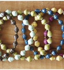 31 bits - paper bead jewelry for a good cause