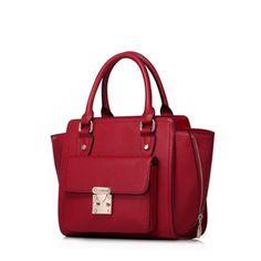 Miejska torebka damska Czerwona