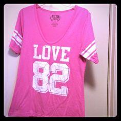 LOVE TSHIRT Loved shirt. No pun intended  minor pilling at armpits. Target Tops Tees - Short Sleeve
