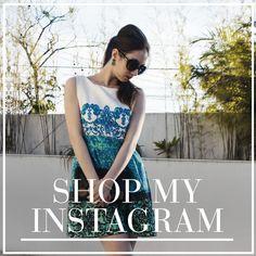 Shop My Instagram: Manu Luize Confira onde encontrar os looks, acessórios e makes que estou mostrando lá no instagram @manuluize.
