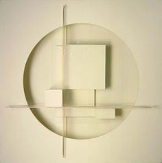 Theodore Roszak: Construction inWhite, 1937 - wood, masonite, plastic, acrylic and plexig...