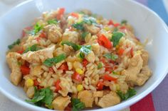 Risotto, Fried Rice, Fries, Pepper, Ethnic Recipes, Food, Swiss Recipes, Food Food, Meals