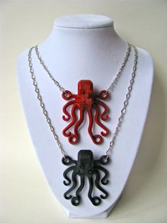 Brick Octopus Necklace (Pick one color) by cutebricks on Etsy https://www.etsy.com/listing/77759305/brick-octopus-necklace-pick-one-color