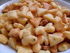 Galletitas saladas de queso
