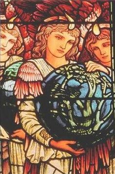 Angels of Creation - Edward Burne-Jones