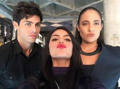 Alec, Isabelle and Maryse.