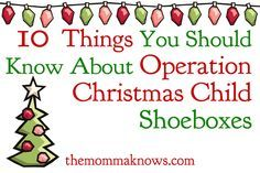 Packing OCC shoe boxes for children can be a lot of fun and is a great family ministry activity, but there are some things that you need to keep in mind. Christmas Child Shoebox Ideas, Operation Christmas Child Shoebox, All Things Christmas, Christmas Holidays, Christmas Crafts, Christmas Boxes, Magical Christmas, Christmas Stocking, Christmas Ideas